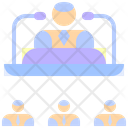 Speech Company Meeting Icon