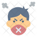 Speech Angry Attitude Icon