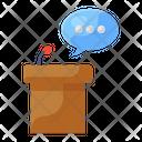 Speaker Podium Speech Podium Speech Icon