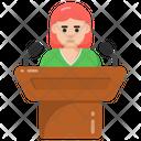 Dais Podium Orator Icon