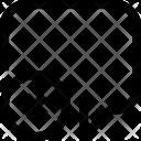 Speech Bubble X Icon