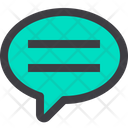 Speech Bubble Chat Chatting Icon