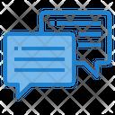 Speech-bubble Icon