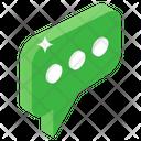 Chatbot Communication Speech Bubble Icon