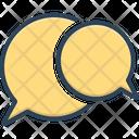 Speech Bubble Talk Oration Icon