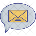 Letter Speech Bubble Message Icon