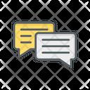 Speech Bubble Chat Message Icon