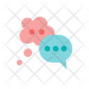 Talking Bubble Speech Icon