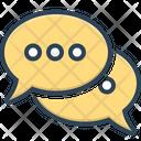 Speech Bubbles Talk Speak Icon