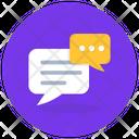 Chat Bubbles Message Bubbles Speech Bubbles Icon