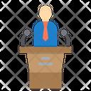 Speech Chat Speaker Speech Icon