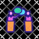 Speech Debate Icon