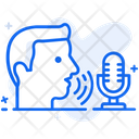 Speech Recognition Voice Recognition Sound Recognition Icon