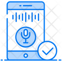 Speech Recognition Voice Recognition Sound Recognition Icon
