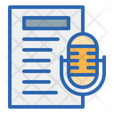 Speech Text Speech Mic Icon