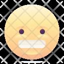 Speechless Grin Emoji Icon