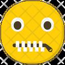 Speechless Emoji Emoticon Smiley Icon
