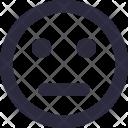 Speechless Emoticon Confused Icon