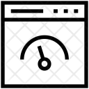 Speed Test Web Icon