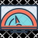 Speed Dashboard Speedometer Icon
