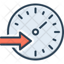 Speed Rate Tempo Icon