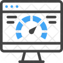 Speed Testing Computer Icon