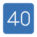 Speed Road Sign Icon