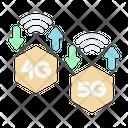 Speed 5 G Signal Icon