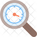 Speed Speedometer Search Icon