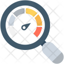 Speed Test Magnifying Icon