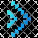 Arrowheads Speed Arrow Icon