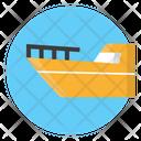 Speedboat Motorboat Fishing Boat Icon