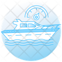 Yacht Motorboat Speed Sailboat Icon