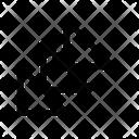 Corner Diagonal Minimize Icon
