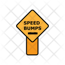 Speed Bumps Board Icon