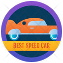 Speed Car Badge Icon