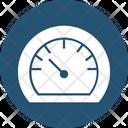Speed Checker Dashboard Odometer Icon