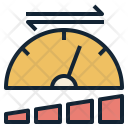 Speed Gauge Upload Icon