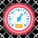 Athlete Speed Indicator Icon