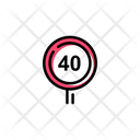 Speed Limit Icon
