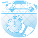 Stopwatch Alarm Clock Icon
