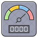 Speed Meter Measure Icon