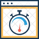 Speed Optimization Web Icon