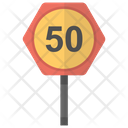 Speed Sign Icon