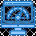 Speed Test Dashboard Management Icon
