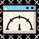 Speed Test Speed Performance Icon