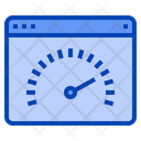 Speed Test Internet Speed Web Speed Icon