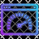 Seo Web Speed Icon