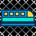 Speed train Icon