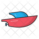 Motorboat Transport Speedboat Icon